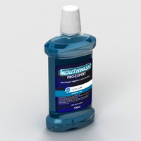 mouthwash mouth 3d max