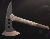 3d model hatchet