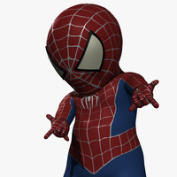 3ds max spider-baby baby spider
