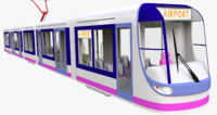 3ds max tram