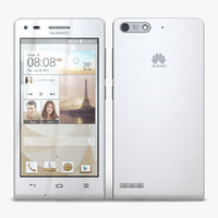 3d model huawei ascend g6 4g