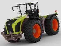 3d model claas xerion tractor