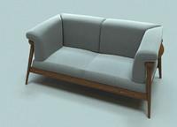 3d wood fabric model