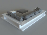 pillows corona 3d model