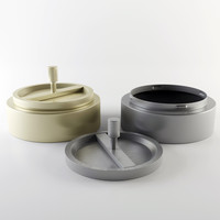 ashtray metalic 3d max