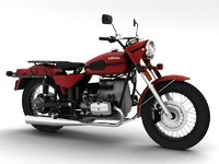 ural solo st 2014 3d model