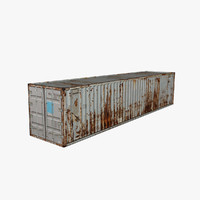 ready container 3d 3ds