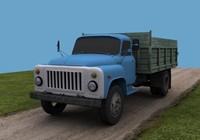 3d model gaz 53