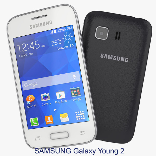 3ds max smartphone samsung galaxy young