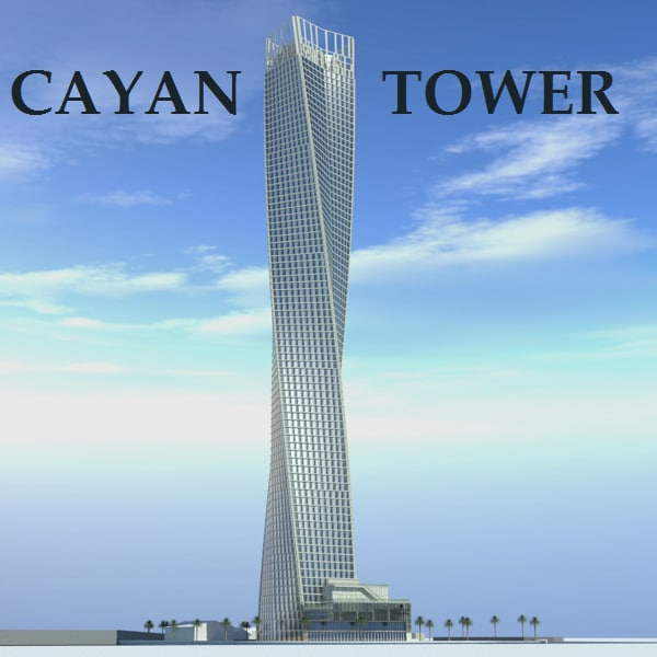3d Model Cayan Tower
