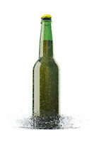 max beer bottle water drops