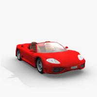 car sports obj