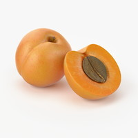 3ds max realistic apricot real