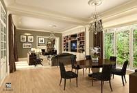 home interior design 3d model