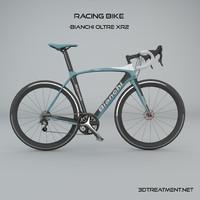 racing bike c4d