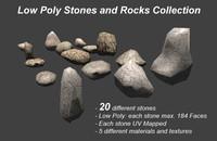 3ds max stones rocks