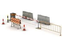 3dsmax traffic elements