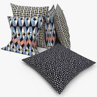 max ikea pillows - svarttall