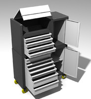 boxes mechanical work 3d model