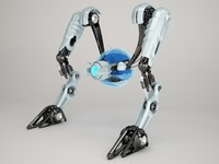 3d max robot nrtv100