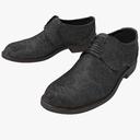 men's shoes 3D models