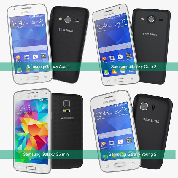 Samsung Galaxy 2014 Collection - S5 mini, Core 2, Young 2, Ace 4