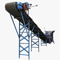 Stone Crusher Machine and Belt Conveyor
