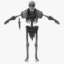 skeleton fighter 3D models