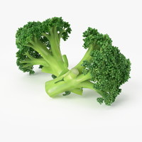 3ds max realistic broccoli real