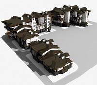 townbuilding 3d model