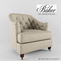 3d baker furniture windsor model