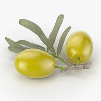3ds max realistic olives real