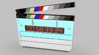 Digital Film Clapper Board Slate