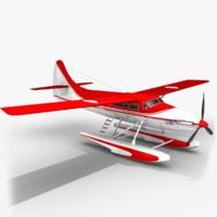 3d sea plane model