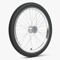 bike wheel 3d 3ds