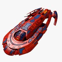 spacecraft space craft obj