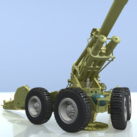 3d ob-155 bf50 155-mm howitzer model