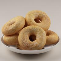 donuts doughnut 3d model