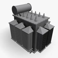 power transformer 3d 3ds