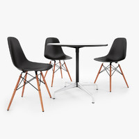 Vitra DSW Chair & Eames Tables