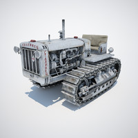 c4d stalinets s-65 soviet tractor