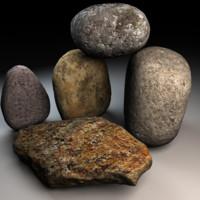 3d max rocks