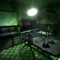 dxf laboratory scene