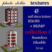 48 wall stucco textures  collection 1