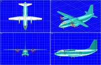 alenia c-27j transport aircraft 3d 3dm