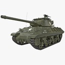 Tank Destroyer 3D models
