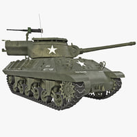 US Tank Destroyer M36 Jackson WWII Rigged