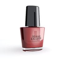 3d polish nail l model