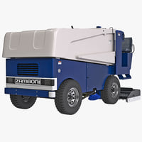 zamboni 546 ice machine 3d 3ds