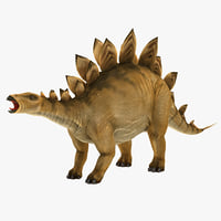 stegosaurus rigged 3d model
